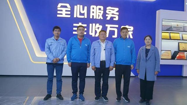 热烈欢迎:海利尔药业集团到安阳全丰参观交流